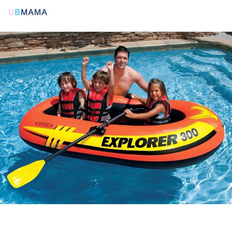 Высокое качество 211*117*41 см надувные утолщение двухслойная резиновая лодка надувная бассейн аксессуары