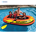 211*117*41cm inflatable thickening three person inflatable boat patchwork raft float inflatable swimming pool accessories