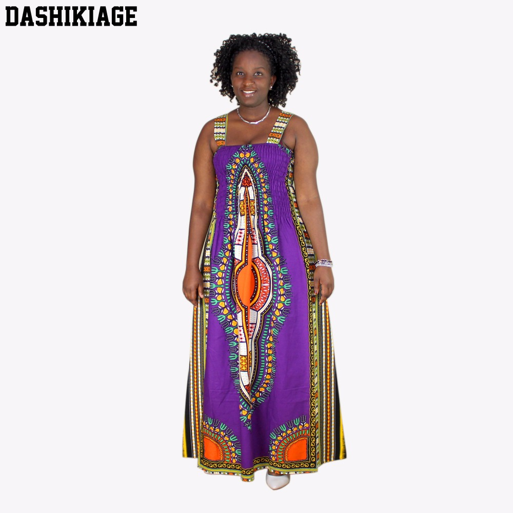Dashikiage Women's Maxi Boho Floral Summer Beach Long   Cocktail   Party   Dress   Sundress