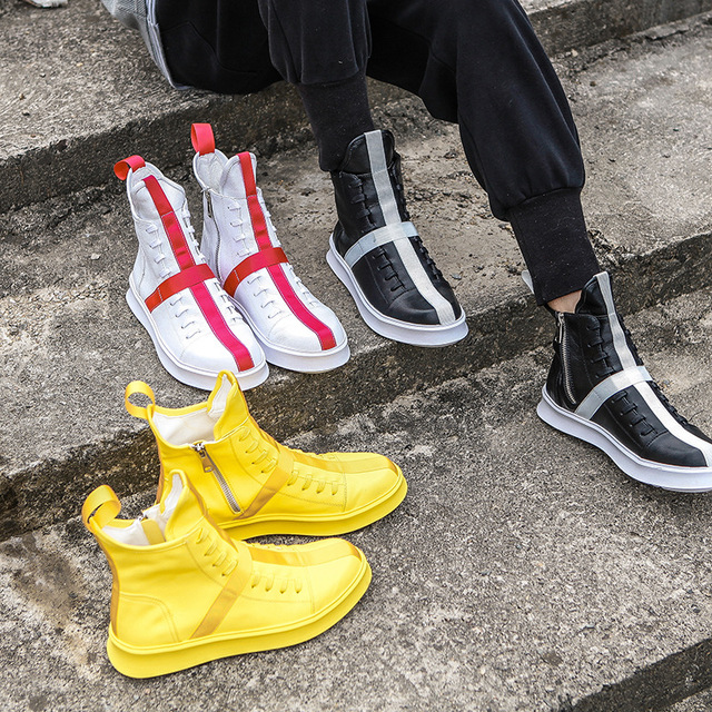 High-Top Fashion Comfort Zip Boots 6