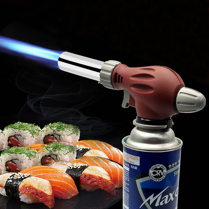 Upgrade Security BBQ Lighter Automatic Electronic Flame Gun Lighter Barbecue Camping Tools Kitchen Baking Gas Torch Flame Gun