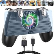 1 Pcs PUBG Controller Gamepad Pubg Mobile Trigger L1R1 Shooter Joystick Game Pad Holder Cooling Fan 4000mAh/4400mAh Power Bank