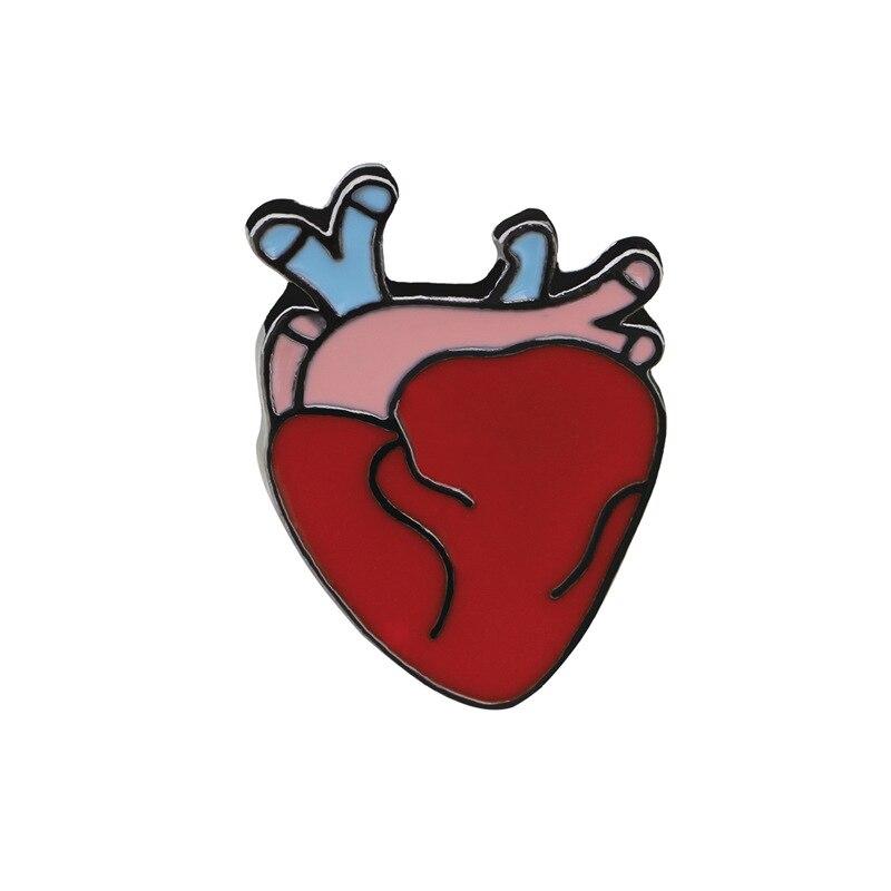 Cartoon Nette Die Menschliche Organ Gehirn Auge Zahn Herz Metall ...