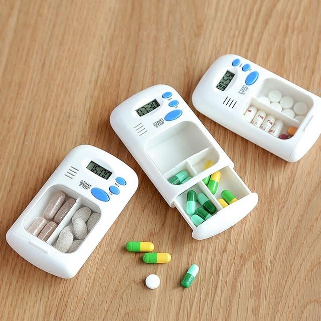 Mini Portable Pill Reminder Drug Alarm Timer 2