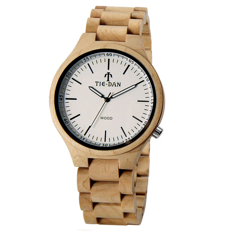 Full Wooden New Arrival Wrist Watch Men Sport Adjustable Band Strap Nature Wood Casual Quartz Bamboo Fashion Women Brief creative wooden bamboo wrist watch genuine leather band strap nature wood men women quartz casual sport bangle new arrival gift