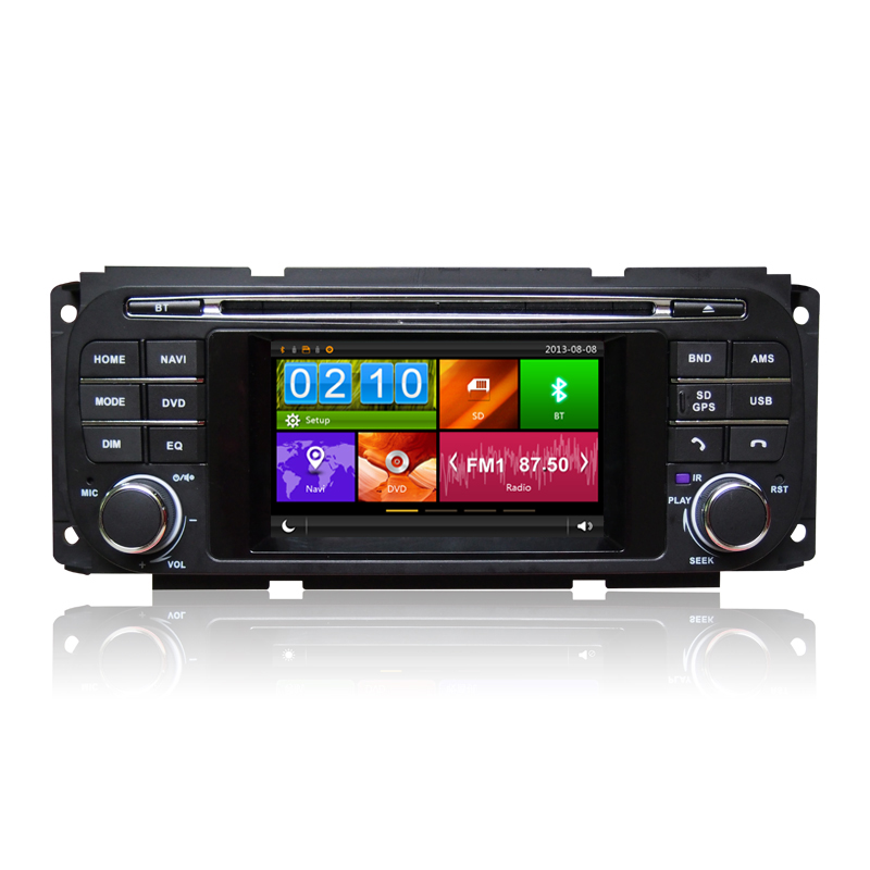 4 3 font b Car b font DVD Player GPS Navigation System for Jeep Grand Cherokee