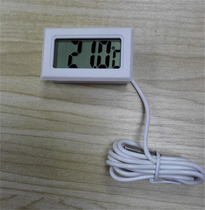 1Pc LCD Digital Thermometer for Freezer Temperature 50 110 degree Refrigerator Fridge Thermometer