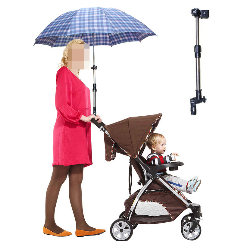 Umbrella Holder for Baby Stroller Adjustable Umbrella Bracket Pram Baby Stroller Accessories Passeggino Baby Car Accessoire