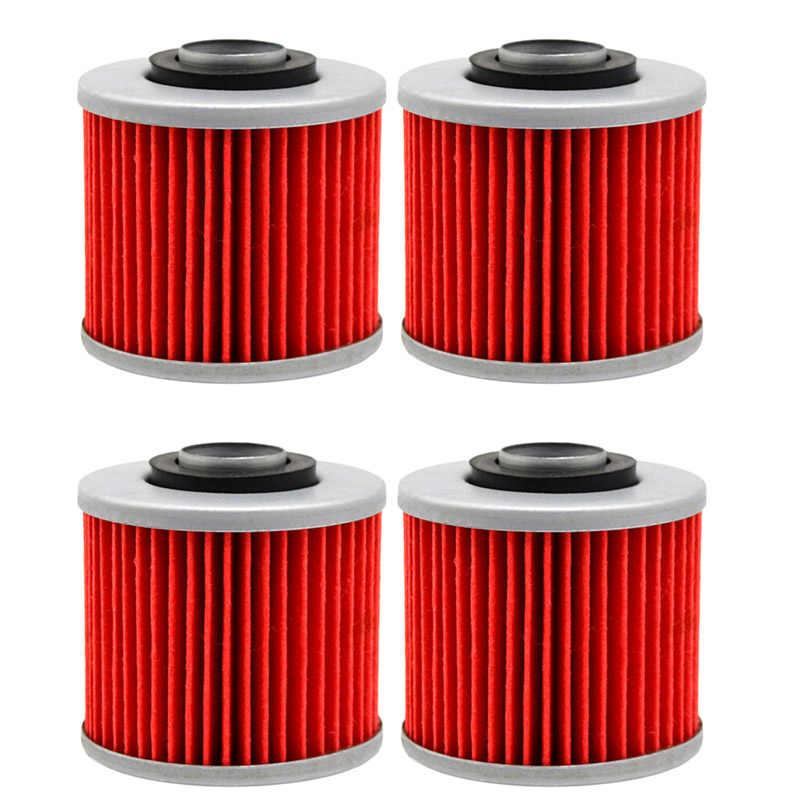 4 Pcs Oil Filter untuk Yamaha XT600 XT 600 1984 1985 SR250 SR 250 1992-1995 SRX600 SRX 600 1990-1994 XT 600 XT600 1993