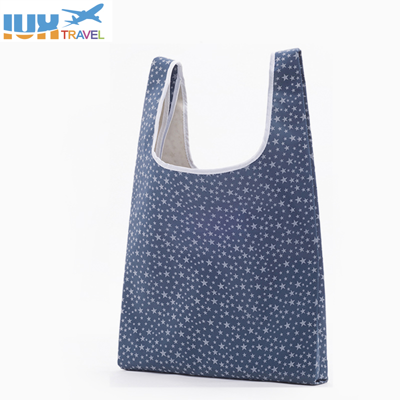 Folding Reusable Shopping Bag Portable ECO Multi-function Pouch Travel Durable Home Storage Handbag Accessories Supplies Product ...