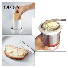 OLOEY Baby Food Supplement Tool Stainless Cheese Fruits Vegetable Grater Butter Mincer Shredder Slicer Complementary food Tools
