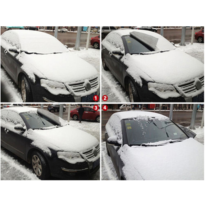 New universal Car Magnet Windshield Windscreen Cover Sun Snow Ice Frost Wind Winter Protector Supplies DXY88 auto car windscreen snow ice frost windshield roof covers protector 610025