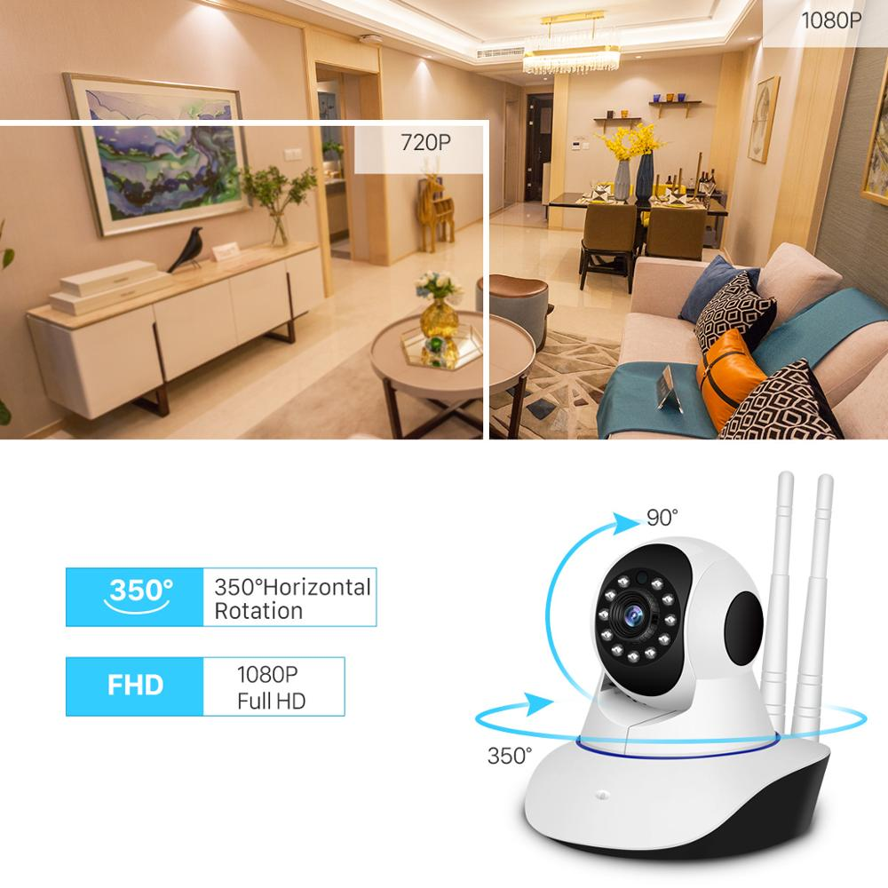 Image 3 - BESDER IP Camera Wireless H.265 1080P Home Security Surveillance Camera WiFi Wired IR Night Vision CCTV Camera 2MP Baby Monitor-in Surveillance Cameras from Security & Protection