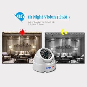 Image 5 - BESDER ONVIF 2.8mm szeroki aparat IP 1080P 960P 720P P2P RTSP wykrywanie ruchu e mail Alert XMEye DC12V POE48V wewnętrzne kamery CCTV