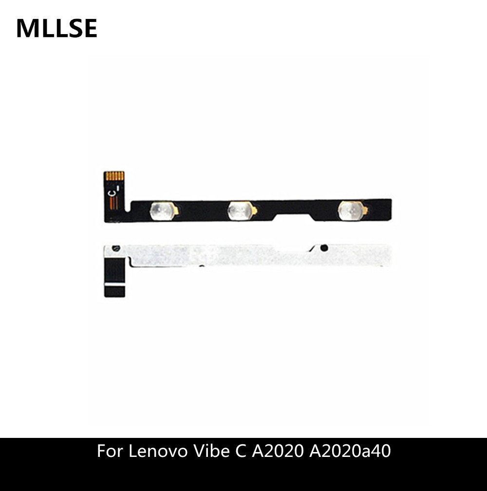 Computer & Office Power & Volume Flex Cable For Lenovo Pb1-770 Pb1-770n Pb1-770m Power On Off Button Volume Sidekey Flex Ribbon Repair Parts Tablet Lcds & Panels