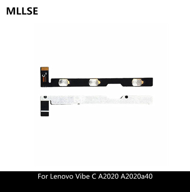 US $0 94 |Replacement Parts Switch on/off Volume Ribbon For Lenovo Vibe C  A2020 A2020a40 Power Button Flex Cable Free shipping-in Mobile Phone Flex