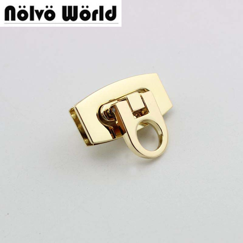 20sets 40*21mm NEW Fashion Metal Lock Accessories For Suitcase Bag Purse Making Wholesale