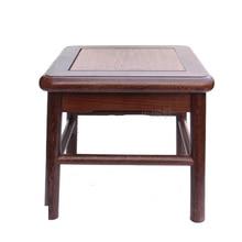 Wenge small square stool redwood stone vases of Buddha base solid wood carving handicraft furnishing articles