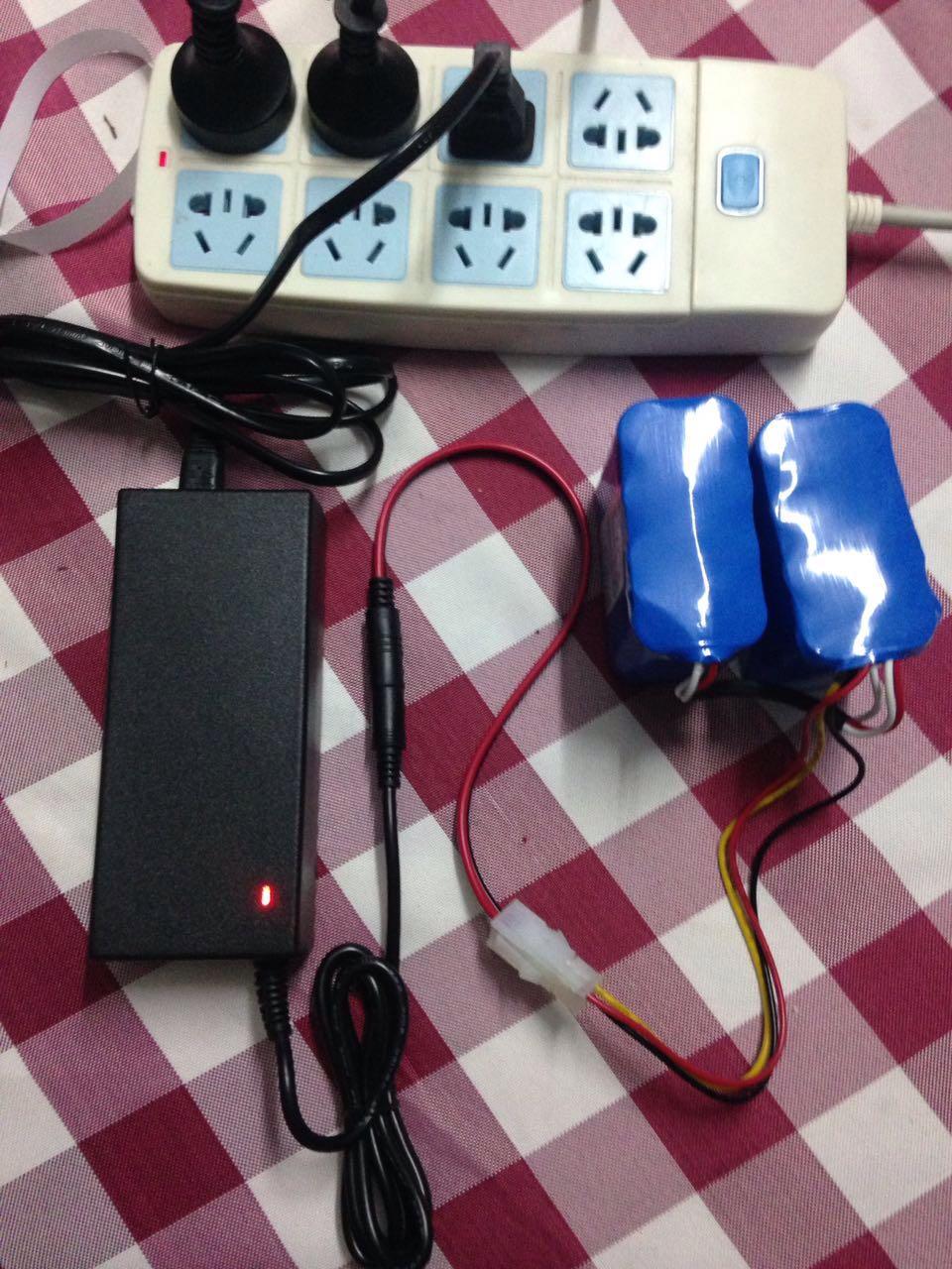 Yujin Robot Kobuki Turtlebot2 battery Customized special charger for 2200mah 4400mah 10400mah Turtlebot2 battery
