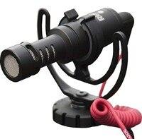 videomicro Video On Camera Shoe Mount Rycote Lyre Microphone Shotgun Mic for DJI Osmo iPhone 6s Plus 7 mobilphone