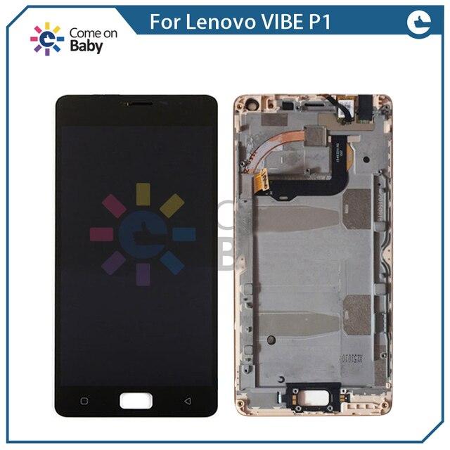 Avec Cadre Pour Lenovo Vibe P1 P1c72 P1a42 P1c58 Turbo Pro P1MC50 LCD Display