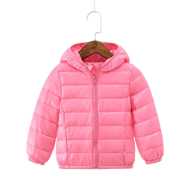 a5b0155293053 2018 Winter Children s Down Jackets Kids Duck Down Coat Baby Warm Jacket  for Girls Boys Hooded Parkas Snowsuit Clothes 2-8 years