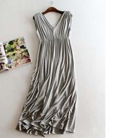 Для беременных Длинные платья Мягкий хлопок платье для беременных Одежда для беременных Для женщин Беременность Для женщин платье Костюмы для подарков W1