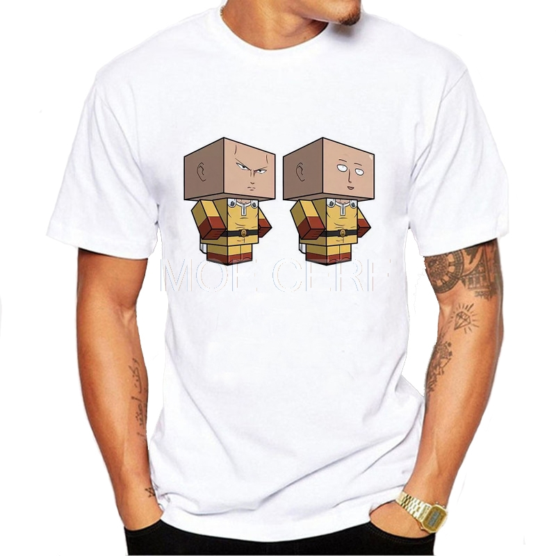 3D Mens Saitamas ONE PUNCH MAN T-shirt G Y MMy World Unisex Anime Rick And Morty Funny Tee Shirt D5-15#