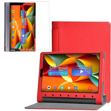 1x Screen Protector, folio Stand Ledertasche Voller Schutzhülle Für Lenovo Yoga Tablet 3 Pro 10X90 YT3-X90F X90M X90L