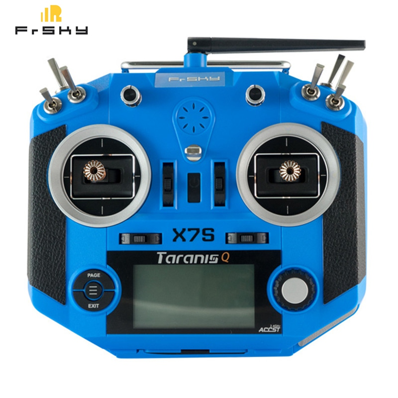 Frsky 2.4G 16CH ACCST Taranis Q X7S Transmitter TX Mode 2 M7 Gimbal Wireless Trainer Free Link App Bag for RC Models 6.5v to 15V askent s 7 1 tx page 2