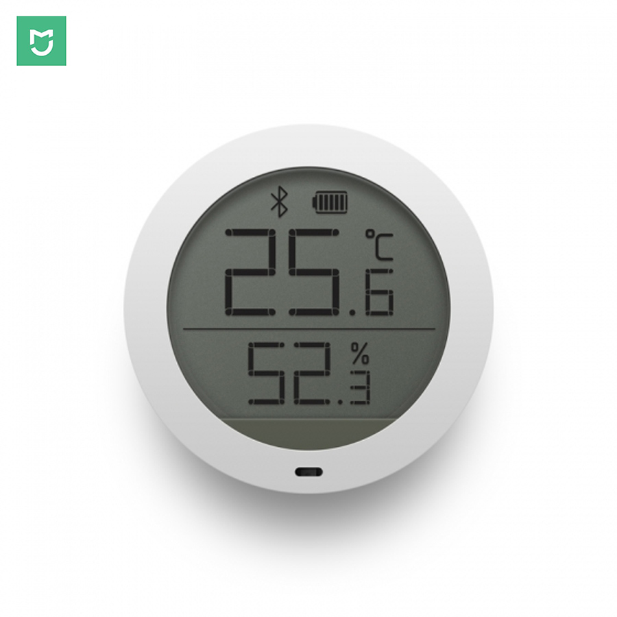 Xiaomi Mijia Digital Smart Wireless Thermostat Accuracy Temperature Humidity Monitor Sensor Work on APP