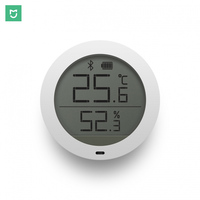 Xiaomi Mijia Digital Smart Wireless Thermostat Accuracy Temperature Humidity Sensor Meter Work On APP