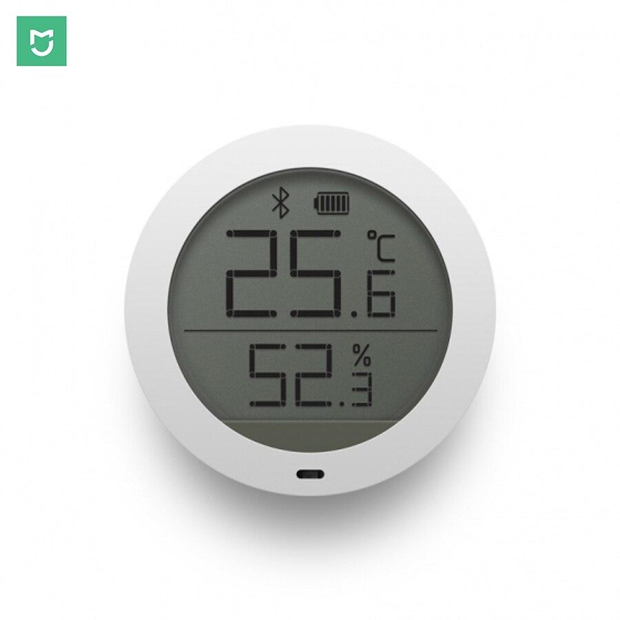 Xiaomi Mijia Digitale Smart Wireless Thermostat Genauigkeit Temperatur Luftfeuchtigkeit Sensor Meter Arbeit auf APP
