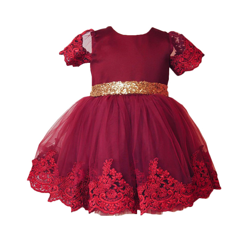 Kids Girl Princess Dress Summer Newborn Baby Lace First Birthday Soft Cute Lovely Loose Girls Tutu Dress Baby Bebes New  Clothes cute newborn toddler kids baby girl summer dress sleeveless princess tutu ruffles romper one pieces floral sundress clothes