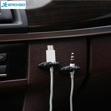 Usb-кабель fixer галстука застежка автомобильное кабеля линия провод зажим автомобильный клей