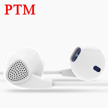 PTM IM500 Enhanced Bass Earphones Two channel Headphone Shocking Sound Quality Headset Stereo Earpods for mobile