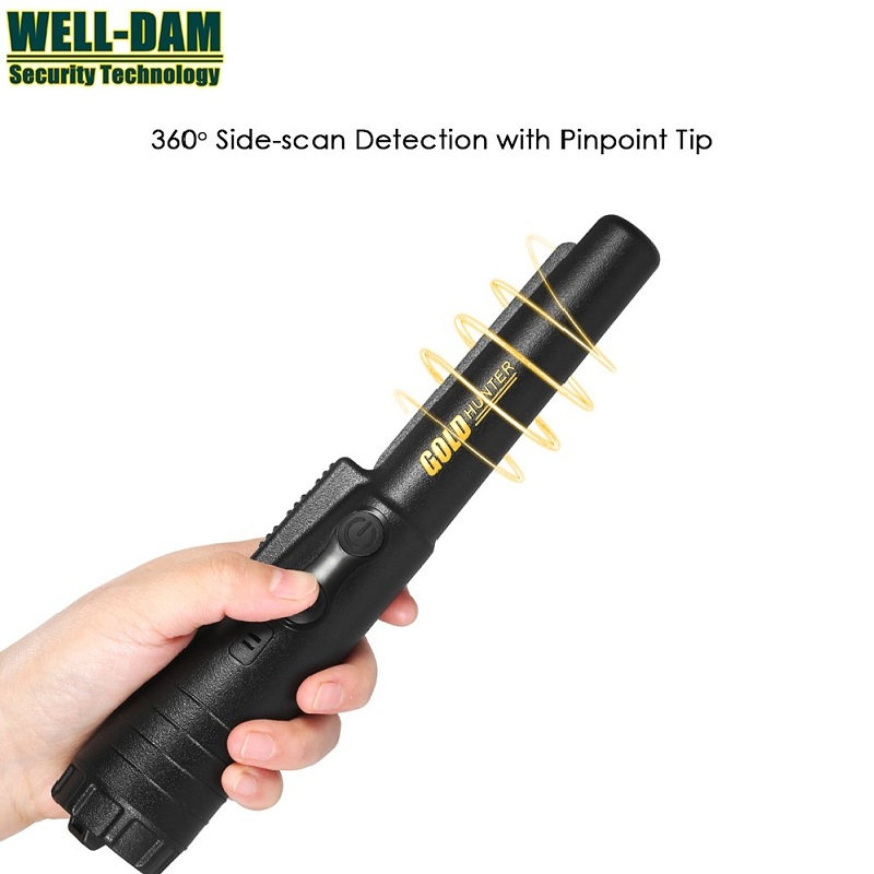 Free Shipping 2018 Hot sale Gold Hunter PinPointer Gold Metal Detector Pro Pointer Pinpointing professional tx 850 deep penetrating gold nugget hunter pinpointing metal detector 19 khz frequency adjustable position armrest