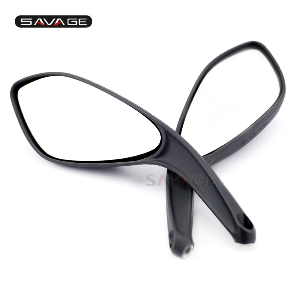 Side Rear View Mirrors For DUCATI Streetfighter S/848 2009-2015 2010 2011 2012 2013 2014 Rearview Mirror Motorcycle Accessories left brand new outer side rearview mirror cover housing shell for ford fiesta 2009 2010 2011 2012 2013 2014