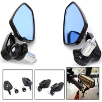 Universal 7 8 22mm Handle Bar Motorcycle Bar End Mirror Motorcycle Mirror For BMW R1200gs R1200GS