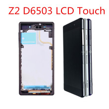 L50W For SONY Xperia Z2 D6502 D6503 D6543 LCD Display with frame Touch Screen Digitizer Assembly For SONY Xperia Z2  LCD цена в Москве и Питере