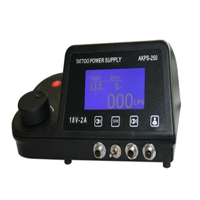 Professional Tattoo Tattoo Power Supply For Tattoo Machine Tattoo Kits Pro Digital LCD Digital Power Supply Free shipping