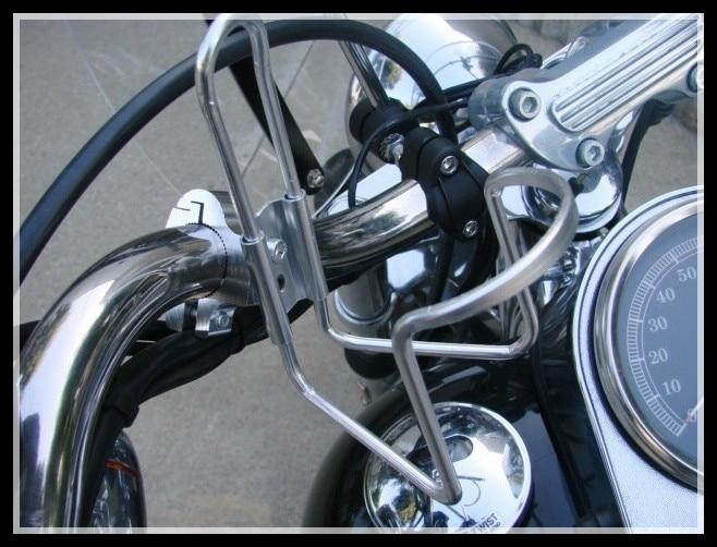 все цены на  SLIVER MOTORCYCLE ATV DIRT BIKE BAR CAN CUP DRINK WATER BOTTLE HOLDER STAINLESS  онлайн