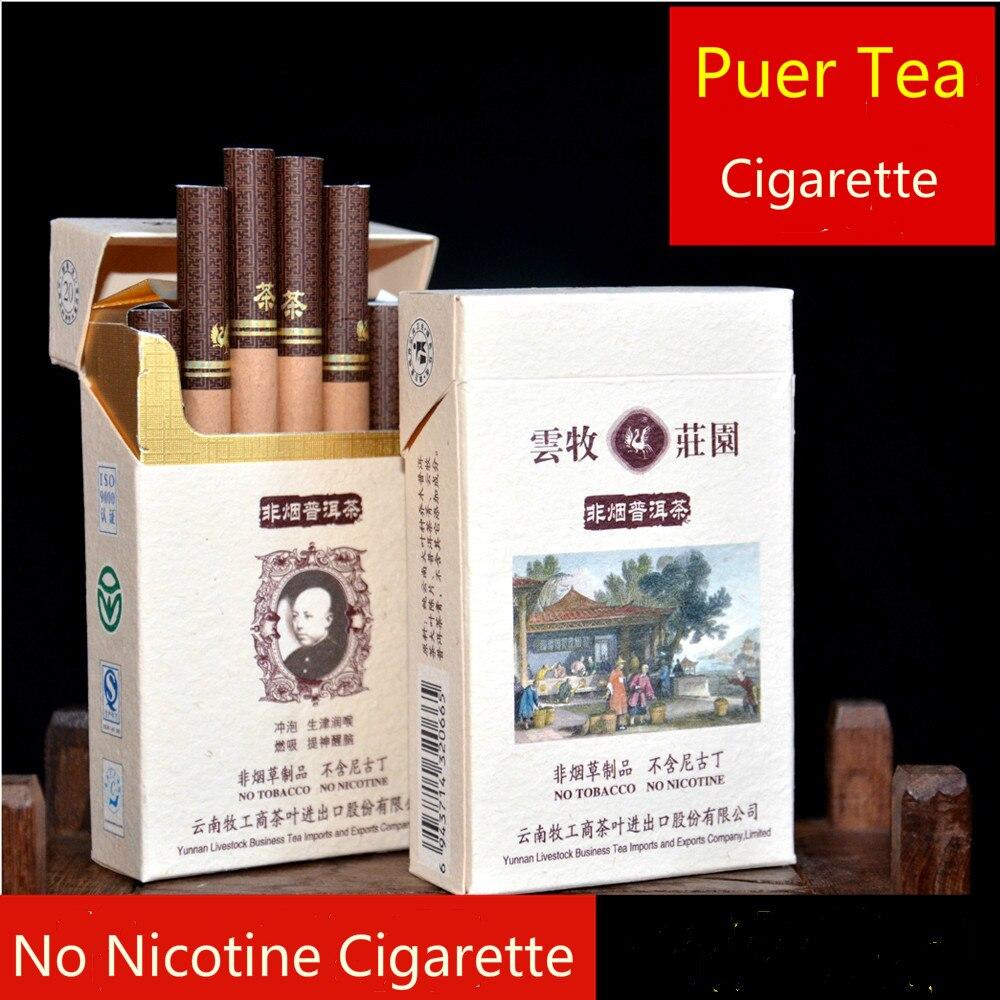 New Brand Chinese Tea Natural Puer Tea Smoke Cigarette Tea ...