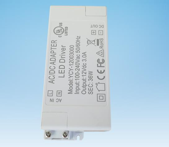 NEW Style Led Power Adapter Transformers For LED Strip 36W Power Supply AC 100-240V DC 12V 3.0A Certificate Authentication