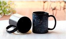 Constellations Printed Black Ceramic Coffee Cup