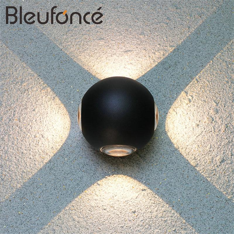 Outdoor Waterproof Wall Lamp Modern Minimalist Round 4W 8W LED Wall Lamp Wall Light Hot Home Lighting Aluminum Wall Lamp BL285