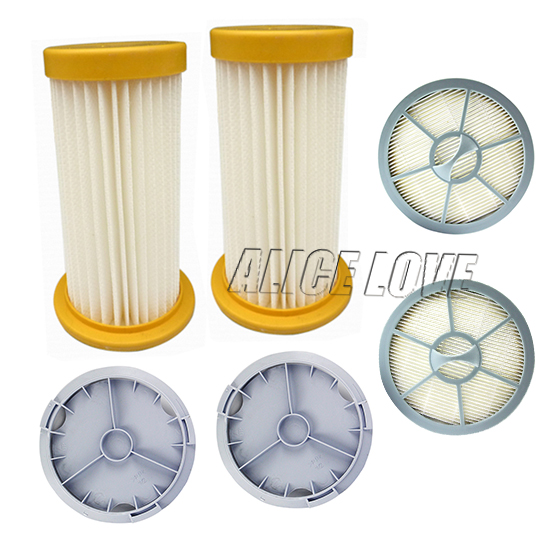 6pcs/set Free Shipping Filter+HEPA+Filter Cover Vacuum Cleaner Accessories Parts For Philips FC8264 FC8262 FC8260 FC8208 FC8256