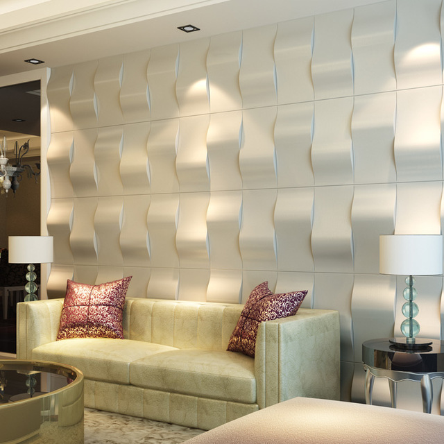 3d Wallpaper For Living Room In India Aliexpress Com Buy Eco 3d Faux Leather Wall Tiles Peel