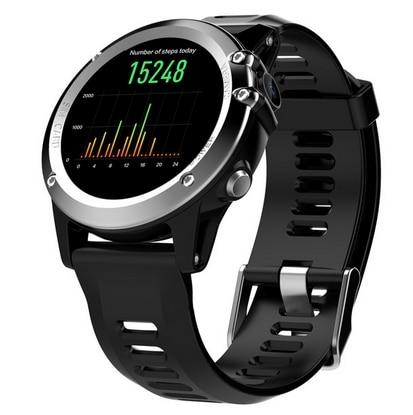 H1 3g смарт браслет телефон Android 4,4 1,39 дюймов MTK6572 4 ГБ Встроенная память Смарт часы IP68 Водонепроницаемый 5.0MP Камера шагомер браслет - 3