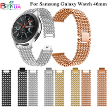 Luxury Alloy Wristband Replacement Strap For Samsung Galaxy Watch 46mm SM-R800 watch accessories High Quality Watchbands